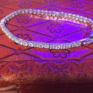"7"" Rhinestone bracelet"